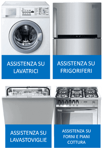 assistenza frigo lavatrici e lavastoviglie
